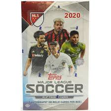 Apr 22, 2021 · 2020 football cards release dates, checklists, price guide access, set information and much more. 2020 Topps Mls Major League Soccer Hobby Box Da Card World
