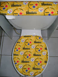 pittsburgh steelers toilet seat cover set larger image