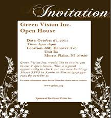 Open House Invite Samples Business Open House Invitation Sample Template Bennymarchant Com