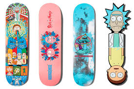 cartoon inspired skateboarding collections
