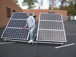 diy solar install at cinci state college with joe utasi in charge