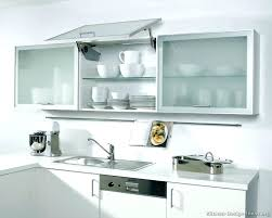 glass design for kitchen cabinet view in gallery orange modern