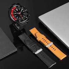 <b>KOSPET</b> PRIME 2 Smartwatch <b>Strap</b> 2 Colors, black/brown <b>Leather</b> ...