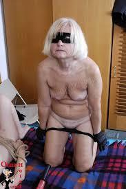 Granny who enjoy bondage