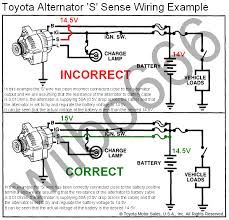 toyota alternator wiring diagram wilbo666 toyota alternators alternator regulator s terminal