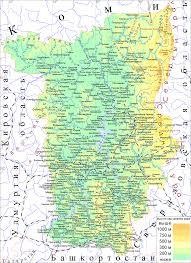 Физическая география Пермского края Википедия