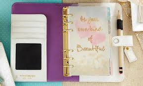 Websters Pages Color Crush Lavender Stripe Personal Planner Kit