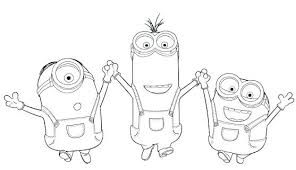 Minion Coloring Pages To Print Minion Coloring Pages To Print