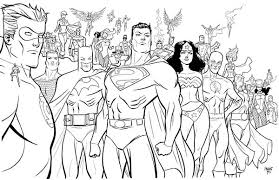 Small Picture Super Hero Squad Poster Coloring Page NetArt