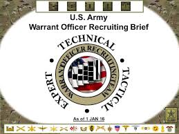 Army Warrant Officer Mos Chart Warrant Officer Recruiting Brief Ppt Video Online Download