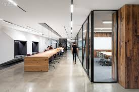 uber office design. Brilliant Office Custom Hickory Worktables In A Corridor Run Parallel To An Enclosure Shared  By Conference And Training Rooms Photography Jasper Sanidad Throughout Uber Office Design O