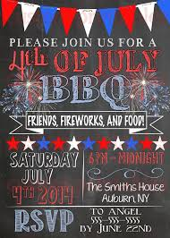 Printable 4th Of July Party Invitations Download Them Or Print