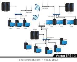 Network Diagram Lan Network Diagram Images Stock Photos Vectors