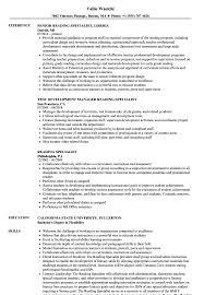Turnaround Specialist Sample Resume Reading Specialist Resume Samples Velvet Jobs 22