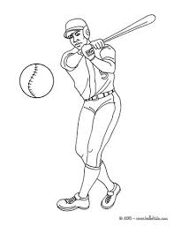 Baseball Batter Coloring Pages