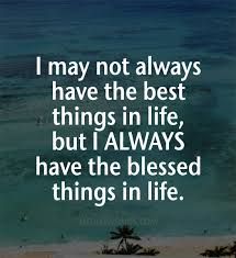 Quotes About Being Blessed Adorable Quotes About Feeling Blessed 48 Quotes