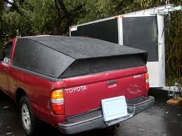 homemade plywood truck bed cover