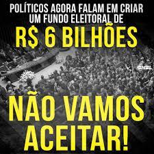 Resultado de imagem para Fundo eleitoral pode chegar a R$ 6 bilhões em 2018