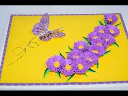 happy aster card cricut 3d floral home decor cartridge cricut