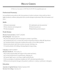 sample resumes for it jobs resume no experience medical assistantesume sample for
