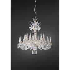 glass chandelier 239 12 12 lights with swarovski elements