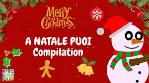 Le più belle canzoni di Natale - A Natale Puoi Compilation - YouTube