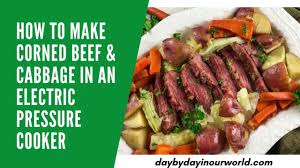how to make corned beef and cabbage in