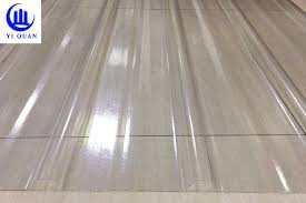transpa corrugated clear polycarbonate roofing sheets wave or tzoidal type