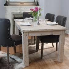 modish furniture. english inlay reclaimed wood dining table and grey chairs modish furniture