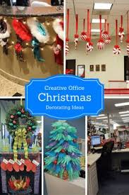 Office decor for christmas Rustic Creative Office Christmas Decorating Ideas For 2018 Pinterest 21 Best Creative Office Christmas Decorating Ideas Images