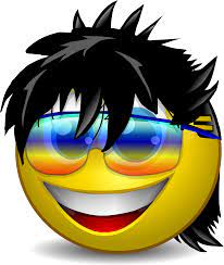 Cool Dude Smiley Face, HD Png Download ...