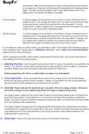 Surefit Therapeutic Footwear Program User S Guide Pdf Free
