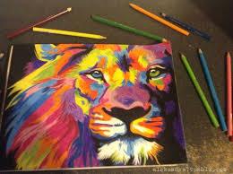 lion drawing color. Delighful Lion Lion Draw Colors For Lion Drawing Color