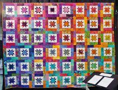 Lucky Stars and La Fete de Noel! Perfect fabric for a perfect ... & Lucky Stars and La Fete de Noel! Perfect fabric for a perfect pattern!  Quilted by Abby Latimer. December 2014 | honeybee quilts | Pinterest | Lucky  star, ... Adamdwight.com