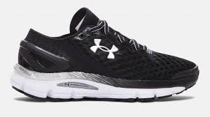 under armour running shoes black and white. under armour speedform gemini 2 women running shoe - black (004) youtube shoes and white e
