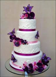 13 With Butterfly Theme Wedding Cakes Photo Wedding Cake With