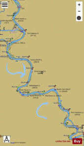 Lower Mississippi River Charts Lower Mississippi River Mile 236 To Mile 325 Marine Chart