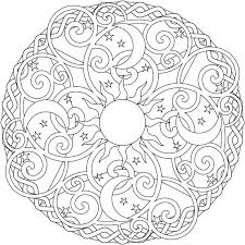 Elephant Mandala Coloring Pages At Getdrawingscom Free For