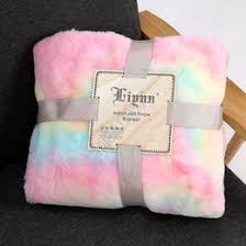 whole fur throw blankets in bulk