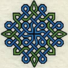 Celtic Knot Embroidery Designs Fo Just Finished Stitching On Another Crossstitch Reddit