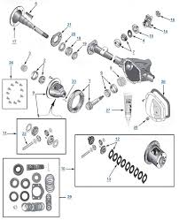 jeep tj wrangler model 44 rear axle parts best reviews & prices at 1998 Wrangler Wiring Diagram at Wiring Diagram Top 1993 Wrangler