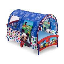 Mickey Mouse Bedroom Curtains Delta Children Disney Mickey Mouse Toddler Tent Bed Reviews