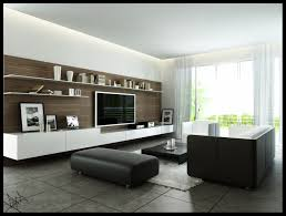Small Picture Modern Monochromatic Living Room With Wood Wall Panel And Dark