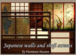 Japanese walls and shoji screens by Furniture Passion
