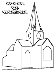 Small Picture Unique Church Coloring Pages 23 For Free Coloring Book with Church