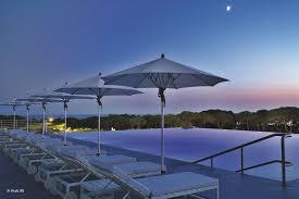 aluminum patio umbrella wind resistant