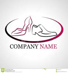 Shoes Logo Design Free Download Logo For Shoes Company Stock Illustration Illustration Of