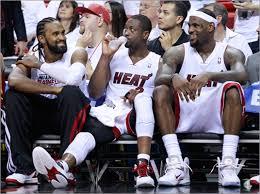Miami Heatu0027s Bench Brigade Has Fun Sharing Ball Playing Small Heat Bench