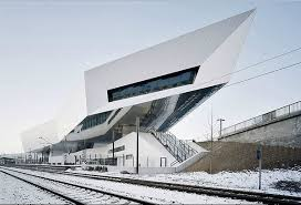 0; Architecture. Collect this idea Dynamic, Exciting and Architecturally  Intriguing: Porsche Museum in Stuttgart