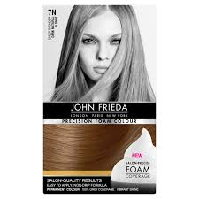 John Frieda Precision Foam Color Chart Buy John Frieda Precision Dark Golden Blonde 7g In Cheap